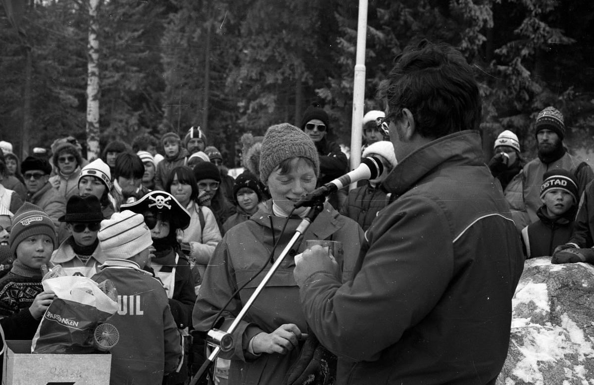 Vinterfest på Myrdammen 1983.