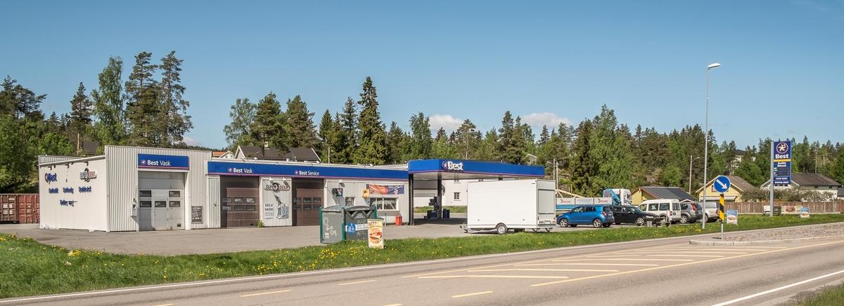 Best bensinstasjon Hektnerveien Fjerdingby Rælingen
