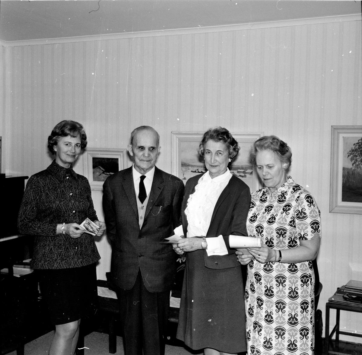 Arbrå, Rädda Barnens årsmöte, Mars 1970