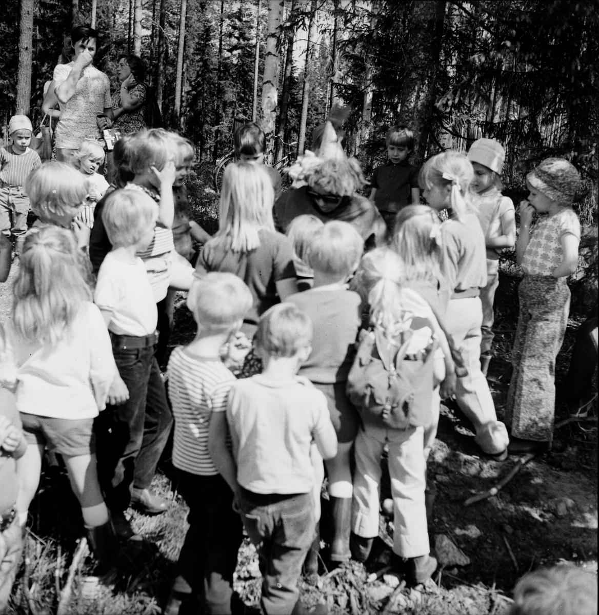 Arbrå, Skogsmulle-skolan i Arbrå avslutas, Juni 1972