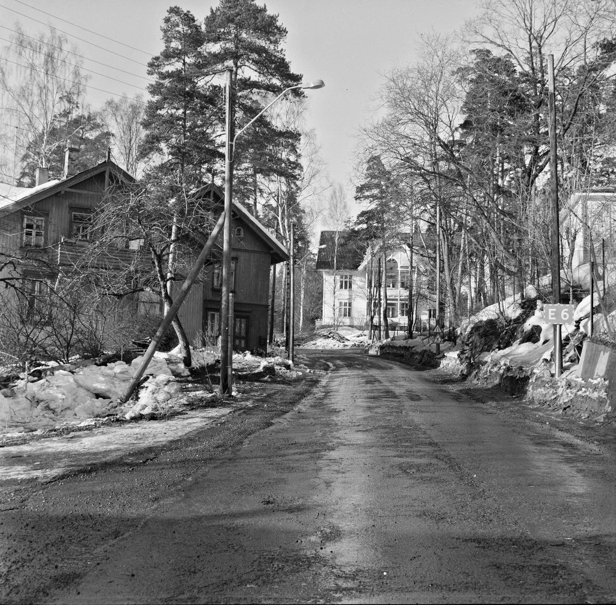 Fra Vækerøveien i Oslo.