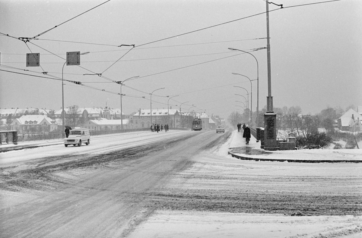 Utflukt med veterantrikk nr, 20 i Trondheim.