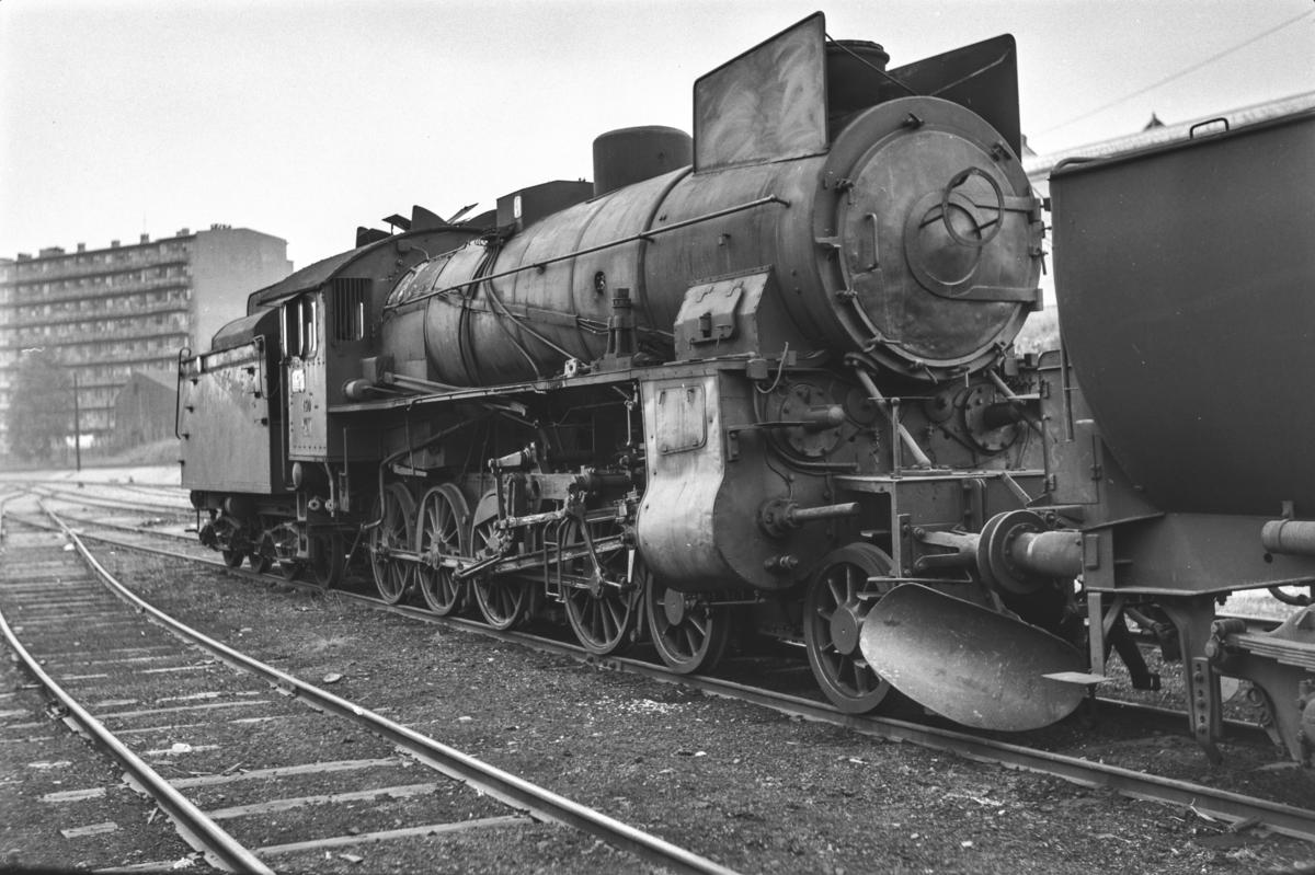 Utrangert damplokomotiv type 31b nr. 450 i Lodalen i Oslo.