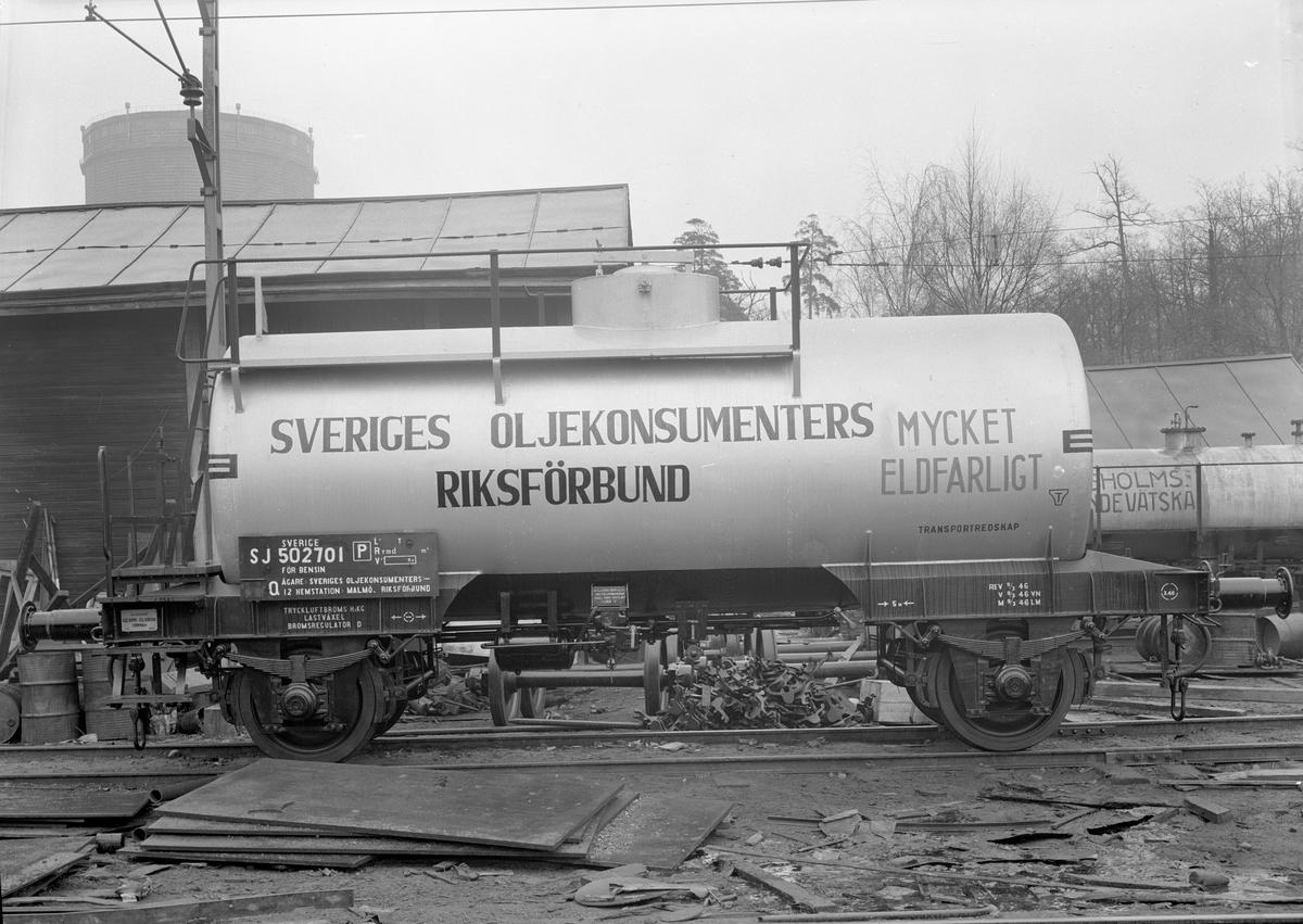 Statens Järnvägar, SJ Q12 50270. Levererad av Christer Olsson.