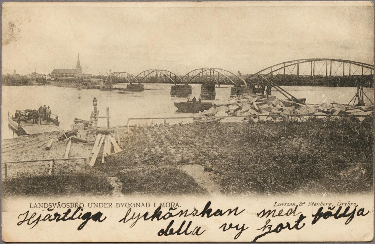 Badstubacksbron i Mora färdigställd 1903.
