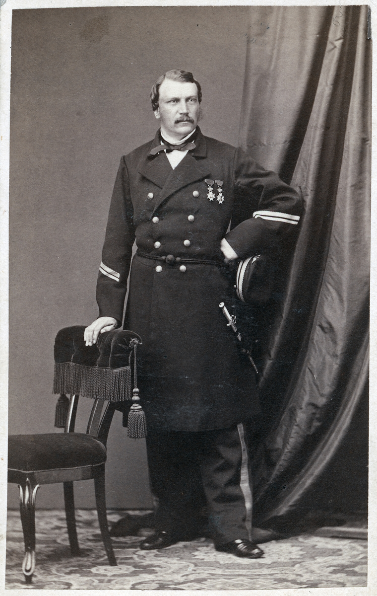Överdirektör Hjalmar Elworth.