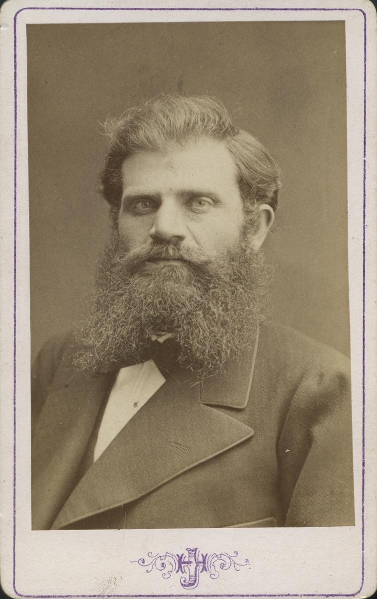 Fabrikör Axel Olsson.