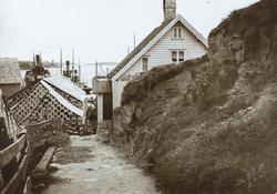 Risøy sett mot syd, ca. 1935.