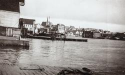 """""""Krossen"""" sett mot sydøst, ca. 1925-1930."""