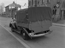 """Chevrolet, lastebil 1946-1947, D-4619, """"Telegrafverket"""" Foto"""