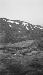 Gammel dam for Holmevatn
