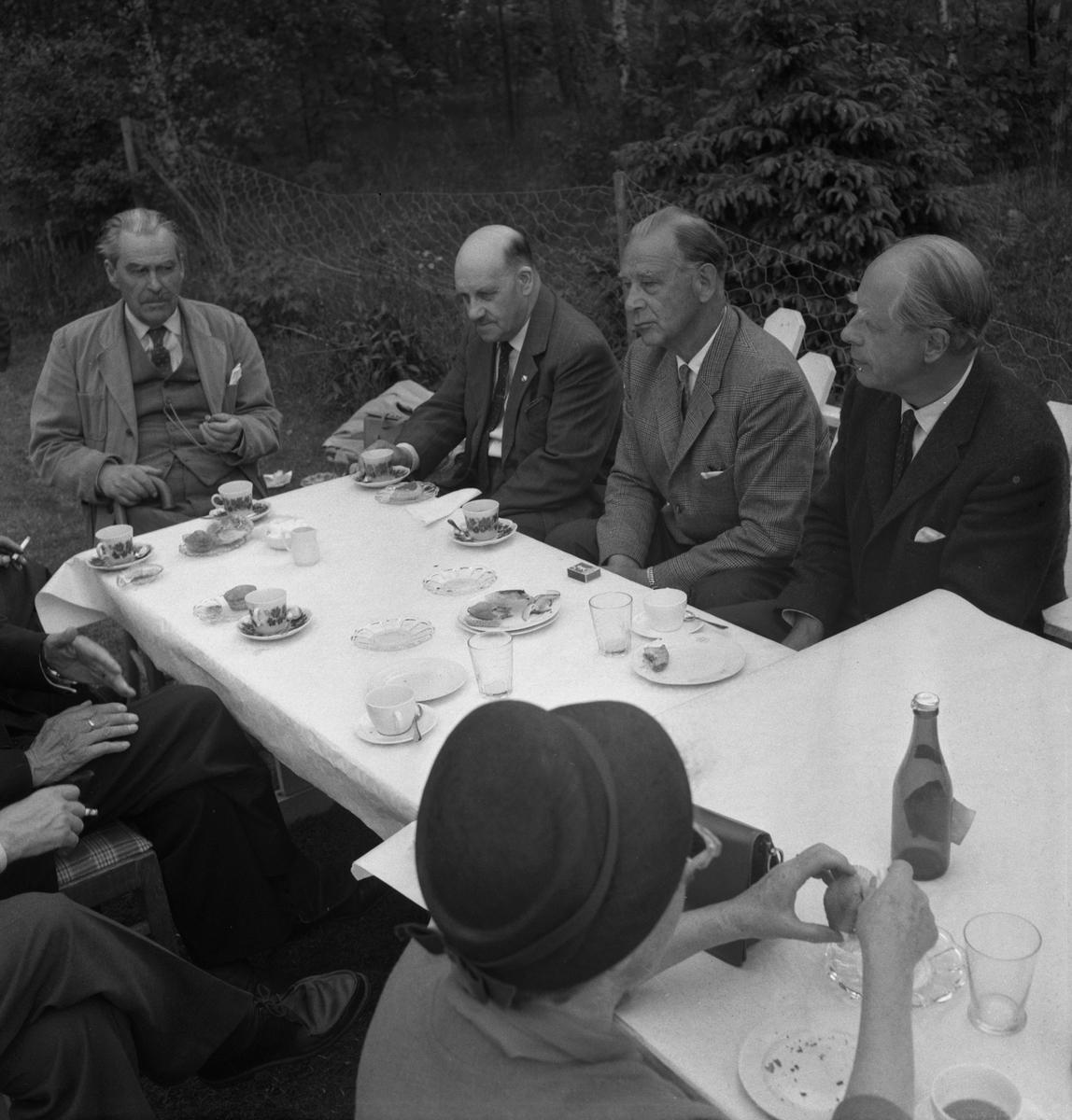Skogssällskapets möte.  5 juni 1959.