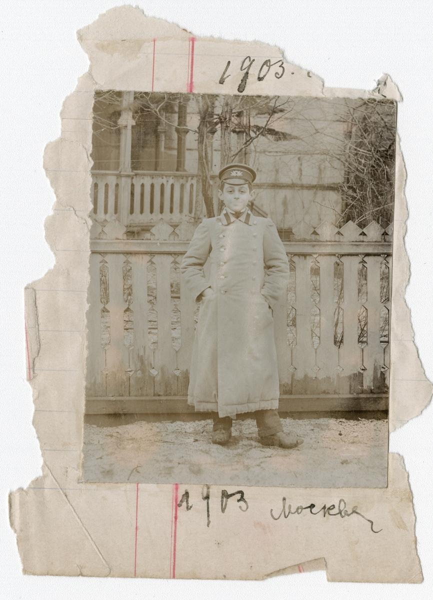 Ignazy Rostin, fotografert i Moskva 1903. (f. ca 1896 - død 1946.)