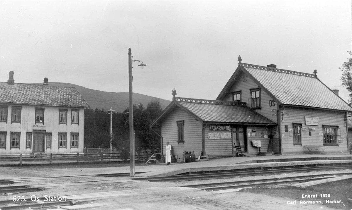 Os stasjon på Rørosbanen