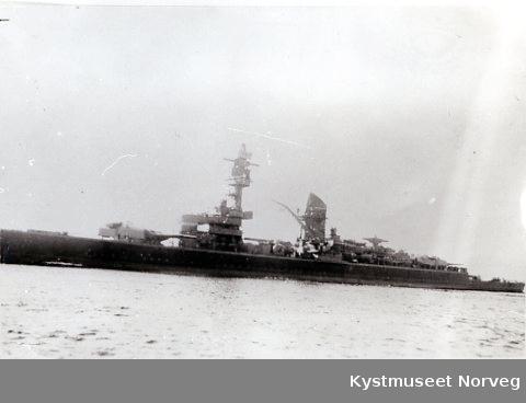 Tysk krigsskip