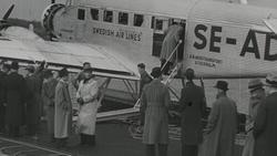 Årets første luftbuss starter