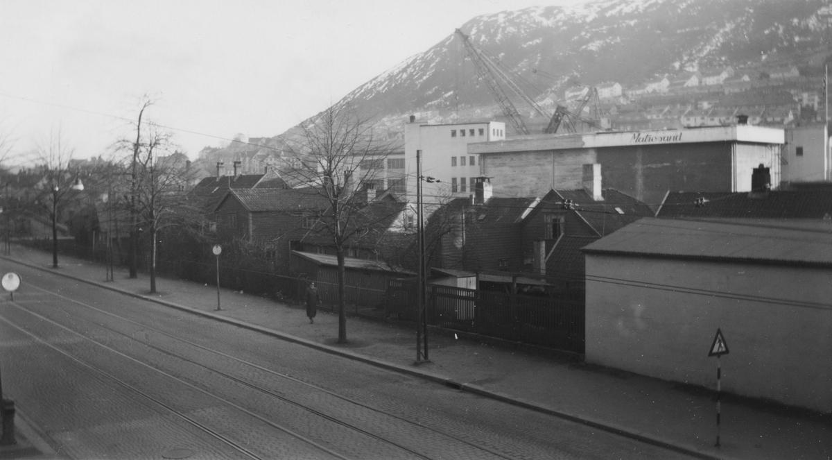 Bergen. Solheimsviken, 1956.
