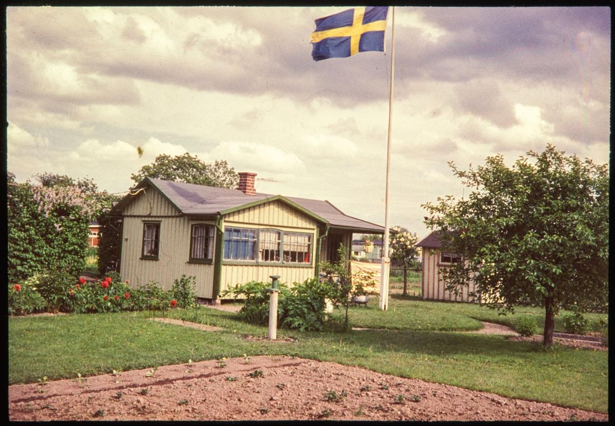 Vänersborg. Holmängens koloniområde
