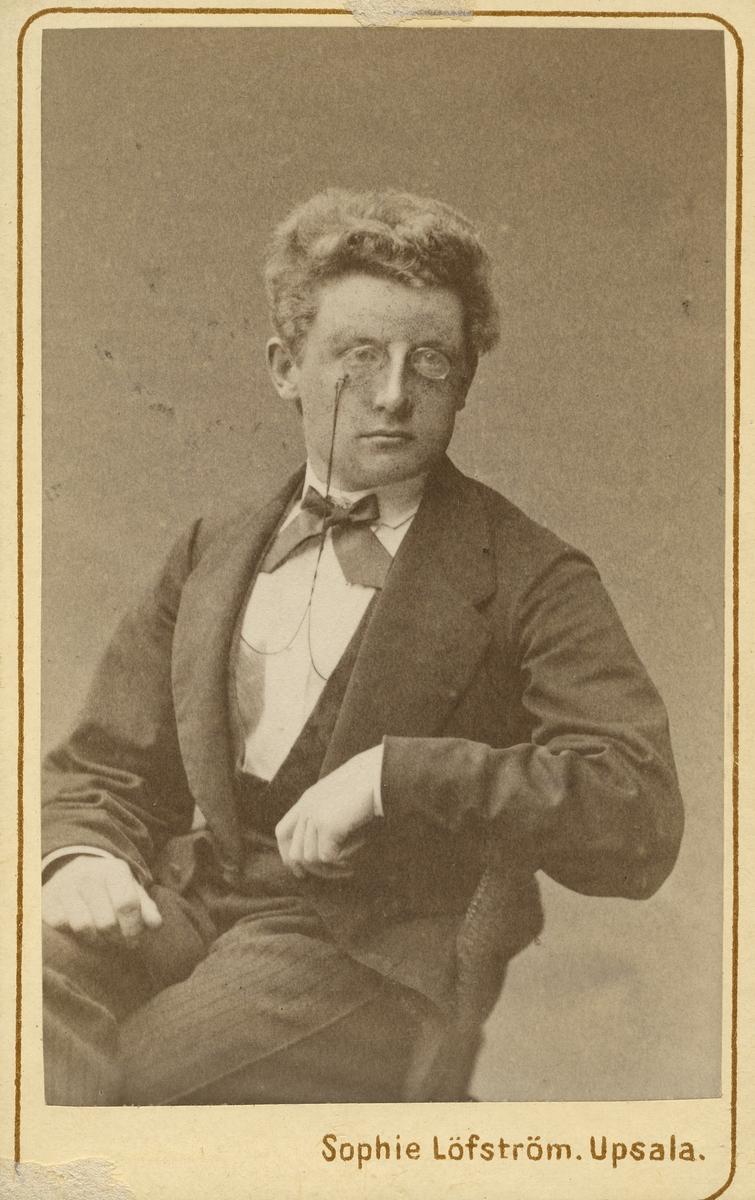 Clas Mebius, 1873.