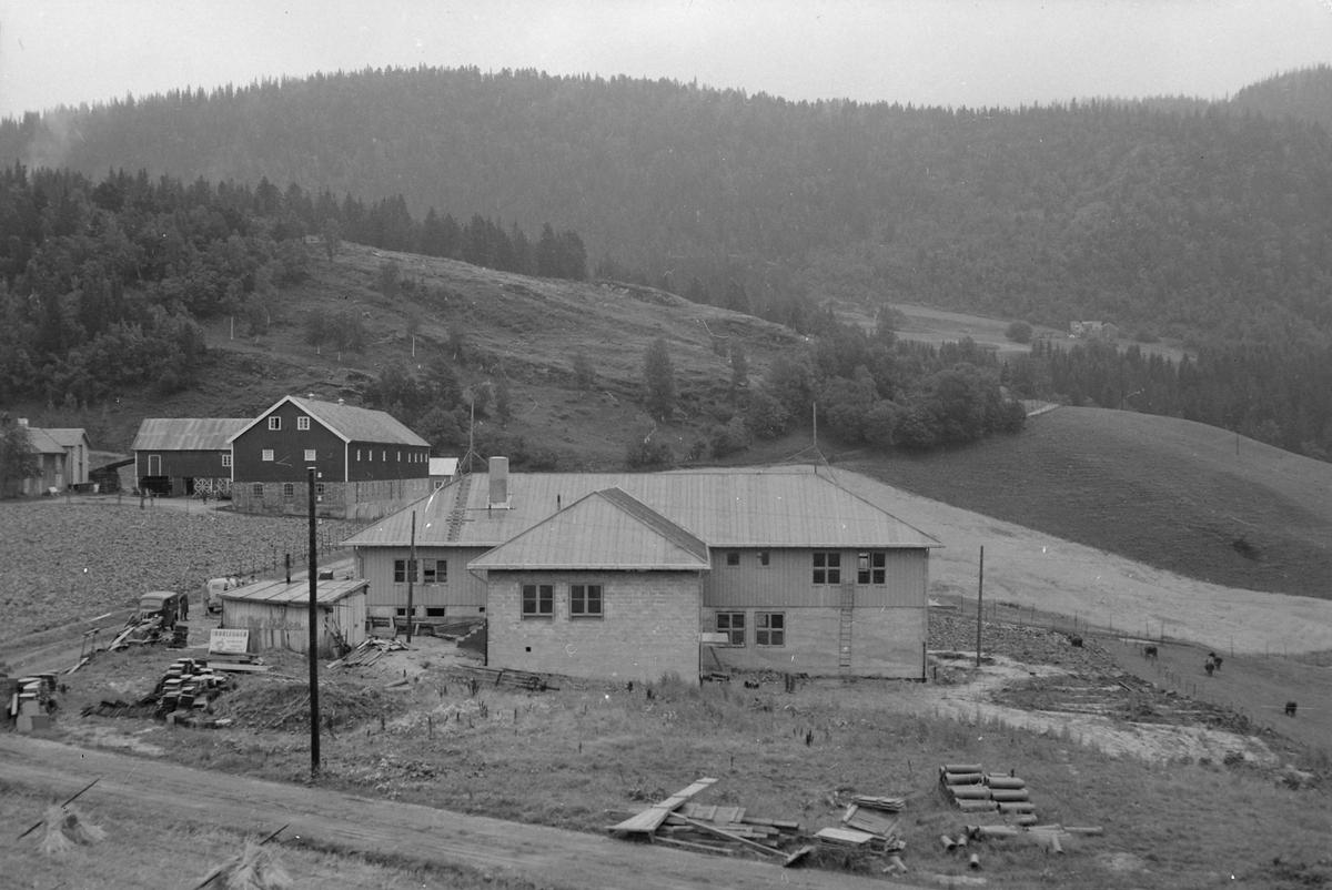 Byggearbeid ved Klæbu pleiehjem