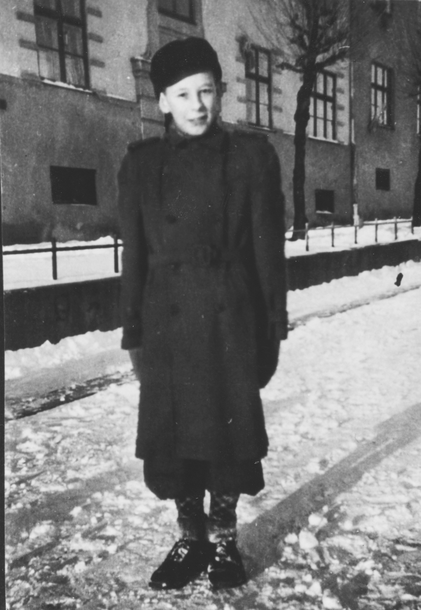 Tore O. Andersen i svenske klær.