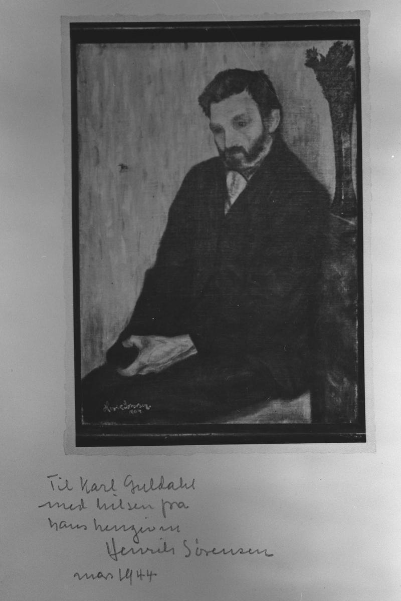 Bildet av et maleri.