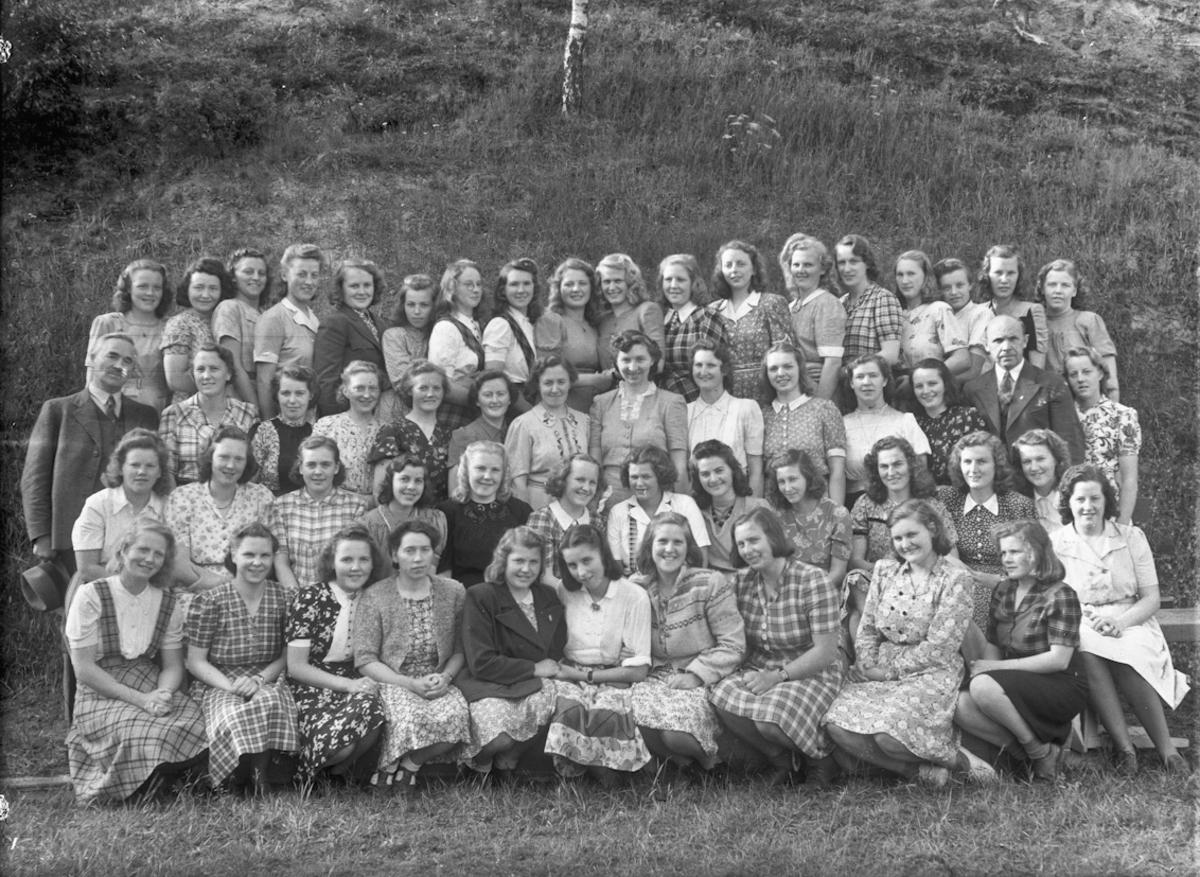 Gruppe jenter.