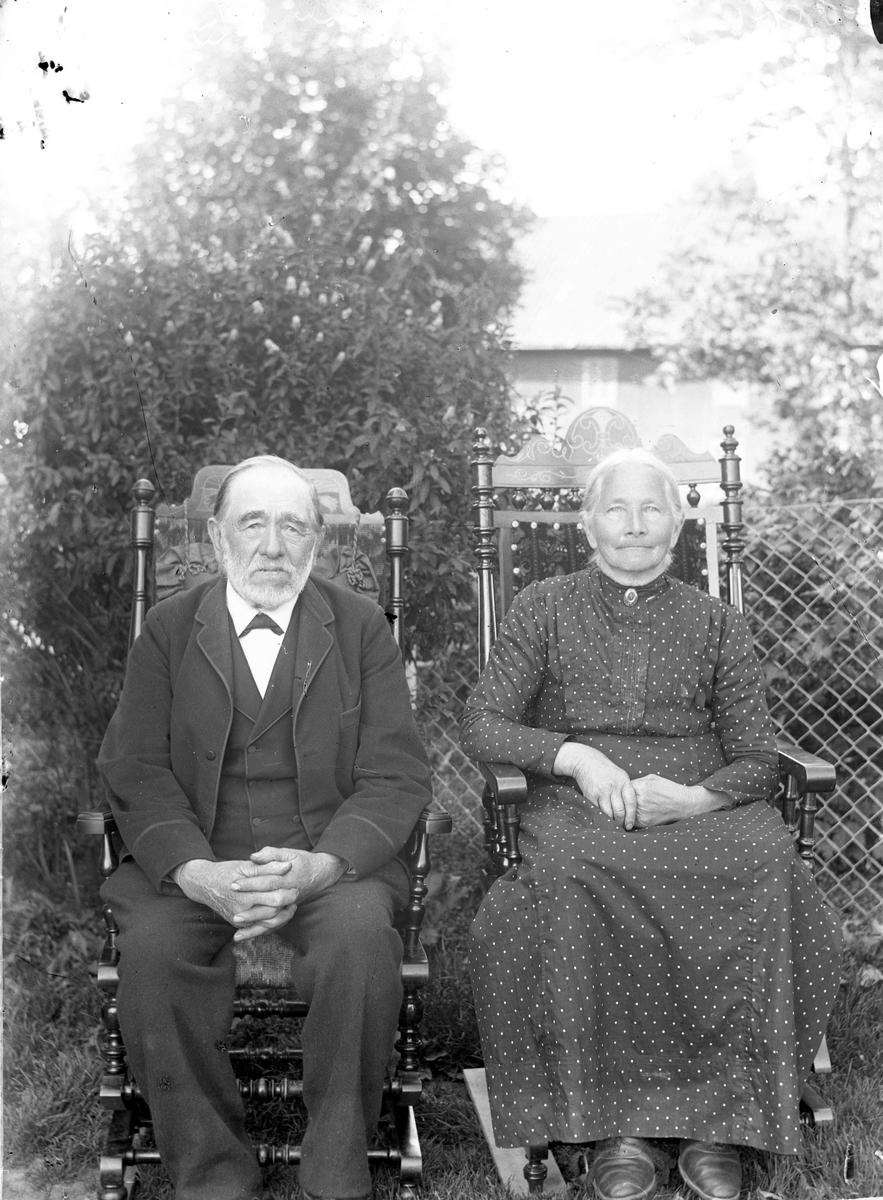 Olaus Løken og frue