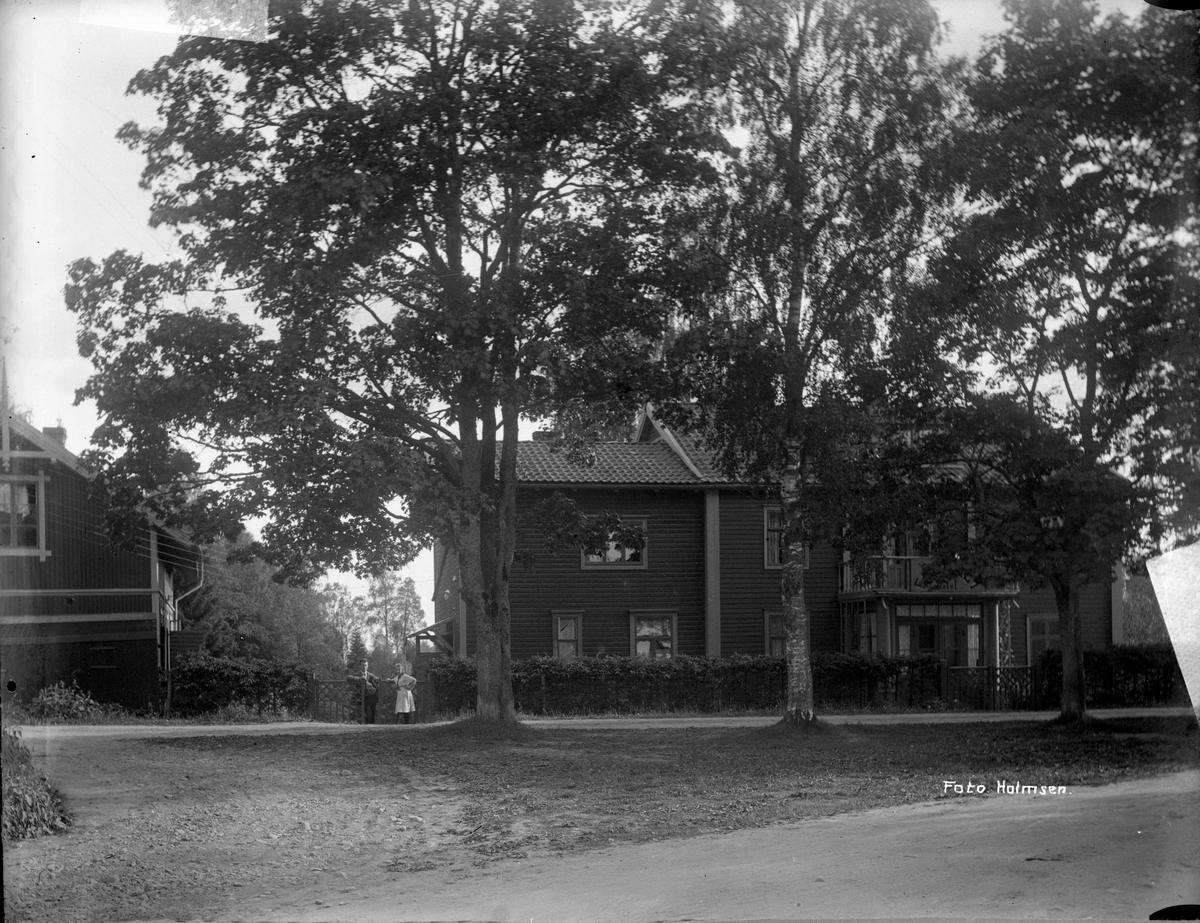 Hotell Fagerli i nærheten av Eidsvoll kirke.