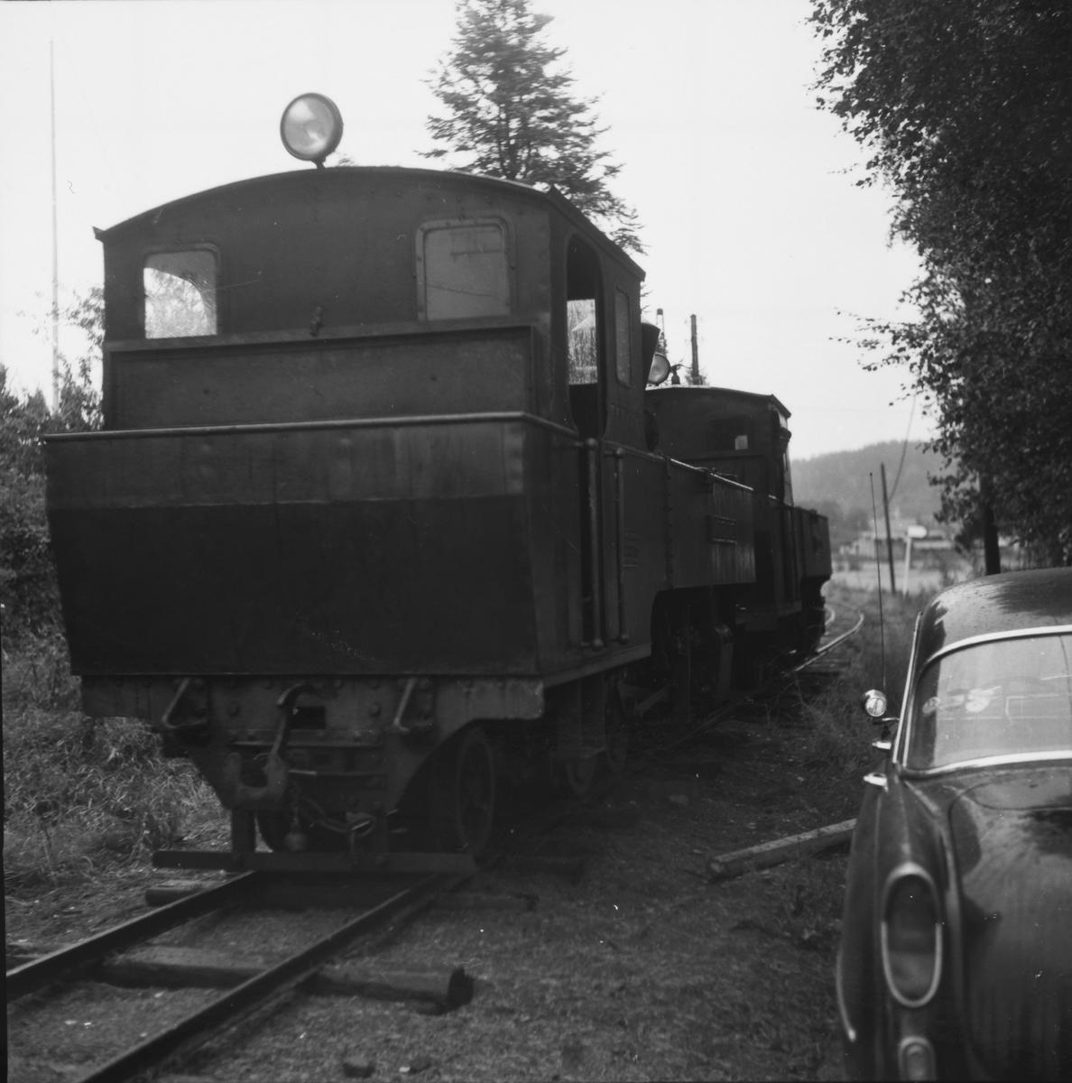 Materielltransport fra Bjørkelangen til Sørumsand etter nedleggelsen.