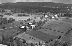 Flyfoto, Solborg midt i bildet. Grøtholm til høyre. Furnesås
