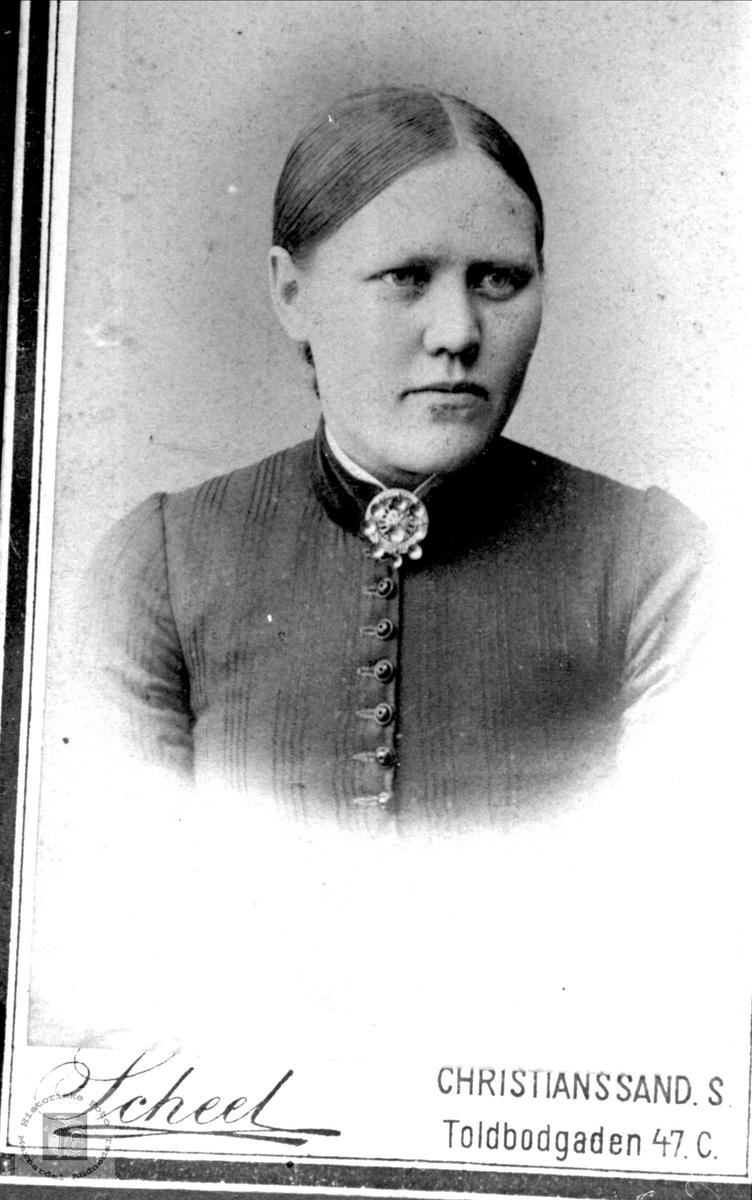Portrett av Aasine Vigemyr, Øyslebø.