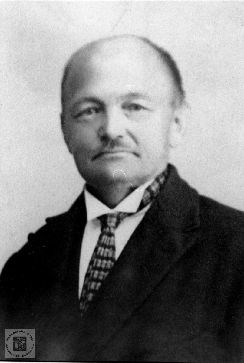 Portrett av Syvert Skaar, Bumyrdal.