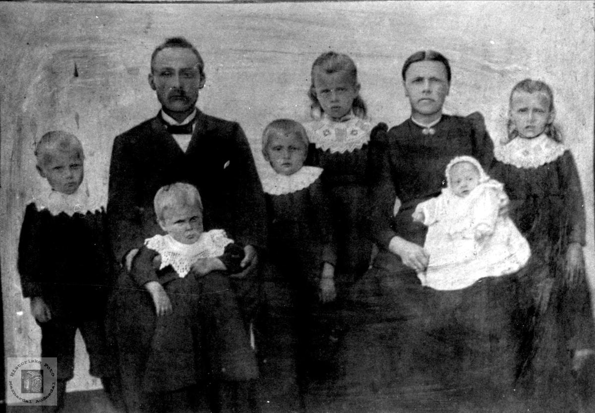 Familiegruppe Valand, , Øyslebø.