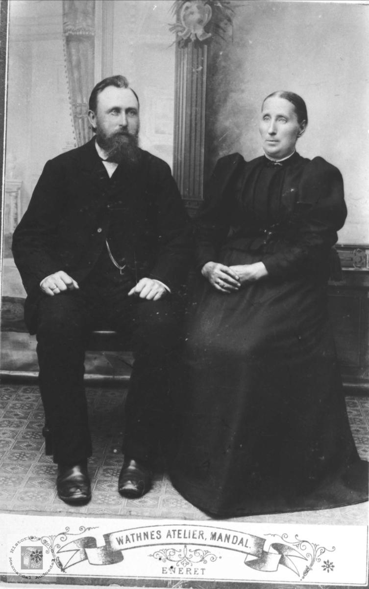 Ekteparet Ole og Anne Fidjestøl, Øyslebø