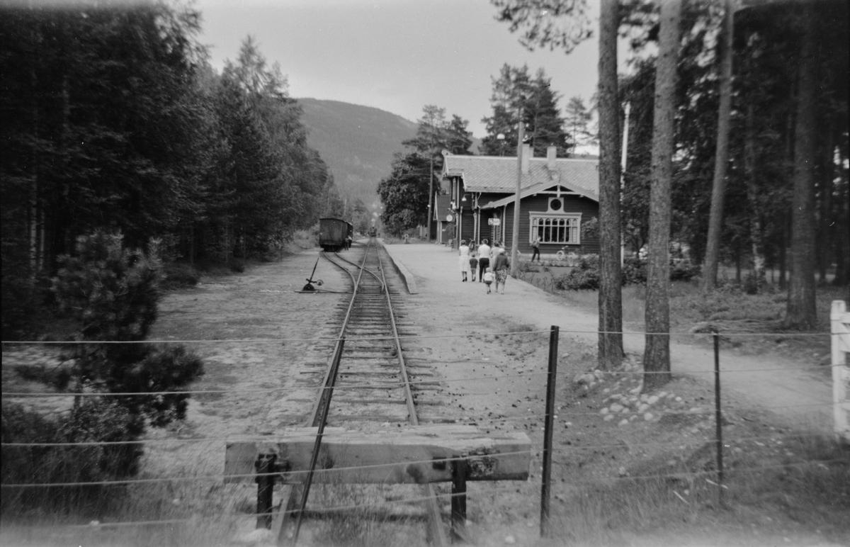 Byglandsfjord stasjon på Setesdalsbanen