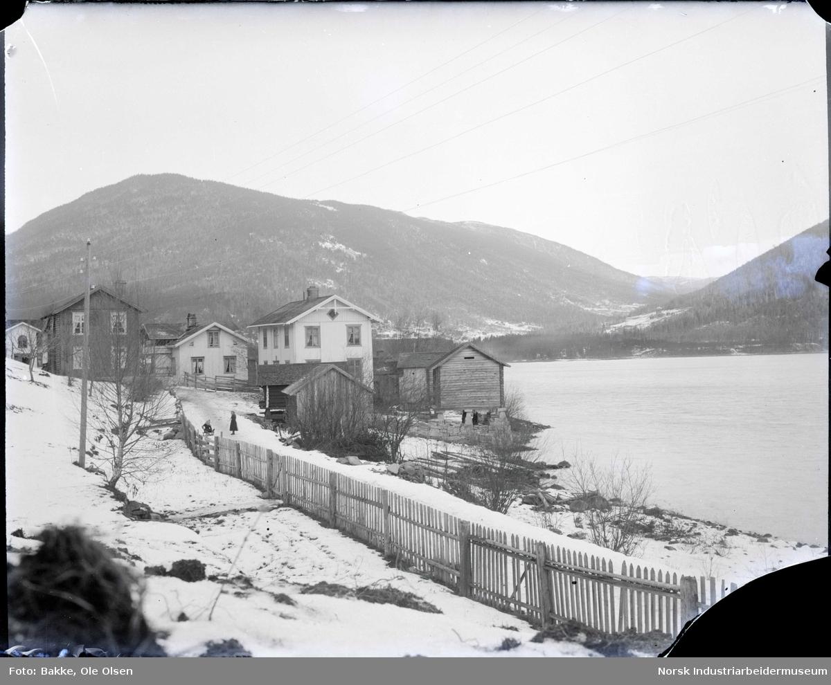 Bygdesentrum, Hegna ved Sigurdsrud.