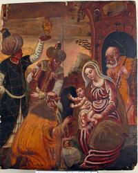 Oljemaleri, De hellige tre konger