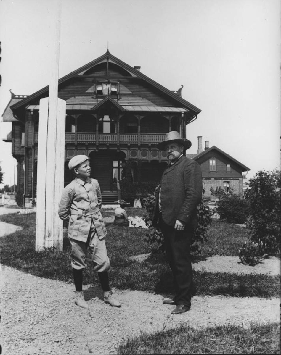 Far og sønn på Vanaheim.