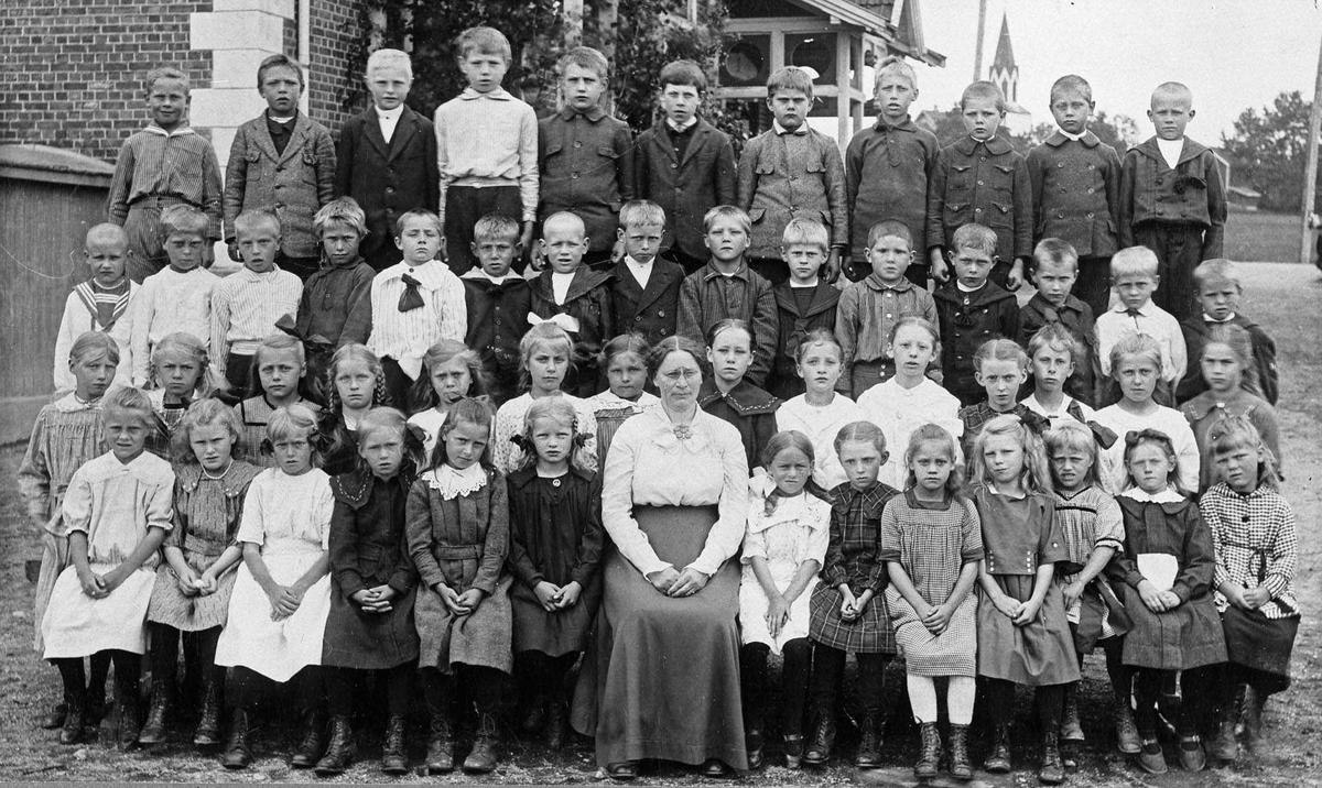 Klassebilde 1917