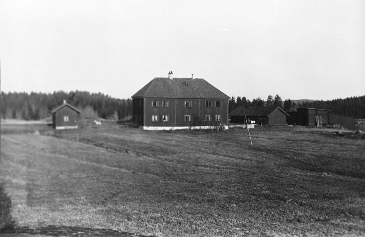 Fløisbonn gård, hovedhuset