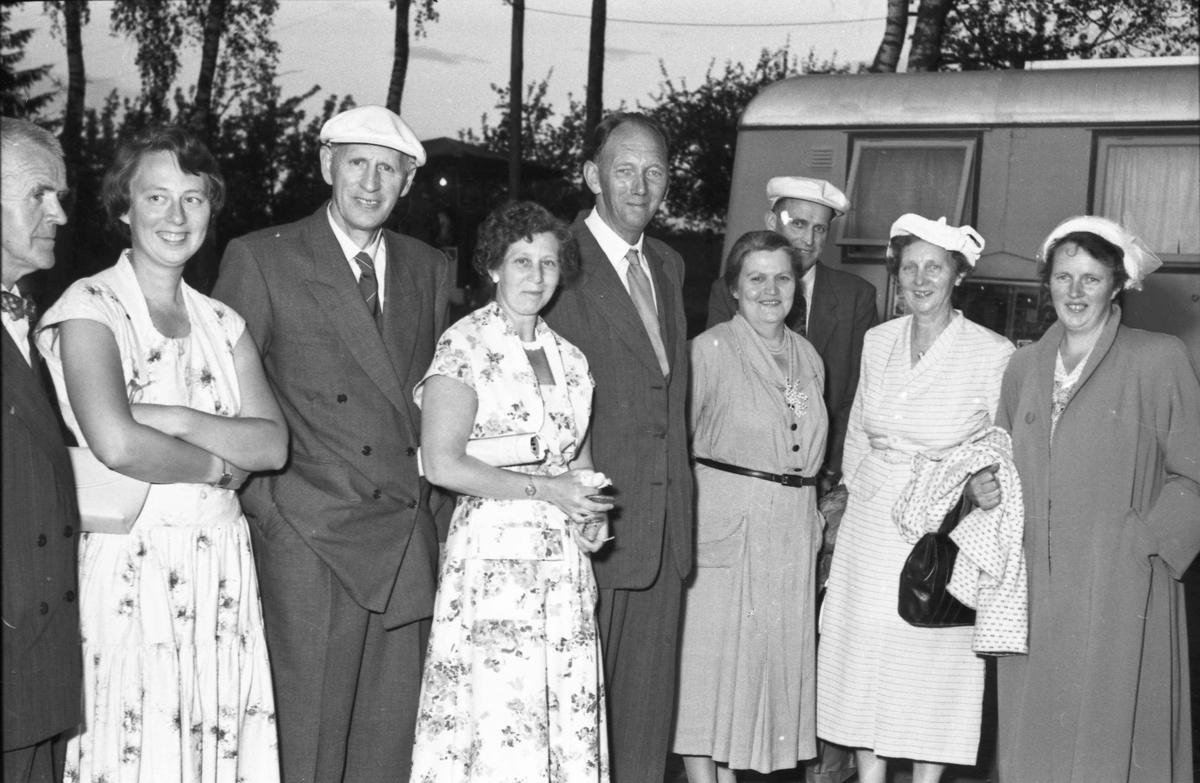 Fra Bygdeutstillingen i 1955.