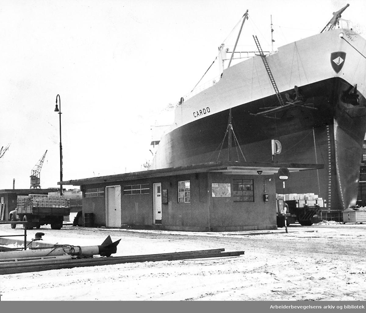Oslo havn - Utstikker D, 1964
