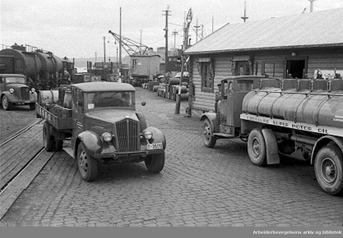 Nylands mekaniske verksted, Tomtebrygga,.1946.